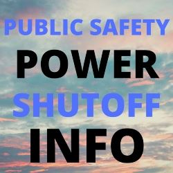 Public Safety Power Shutoff Info