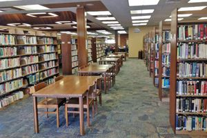 Tables at Lodi Public Library