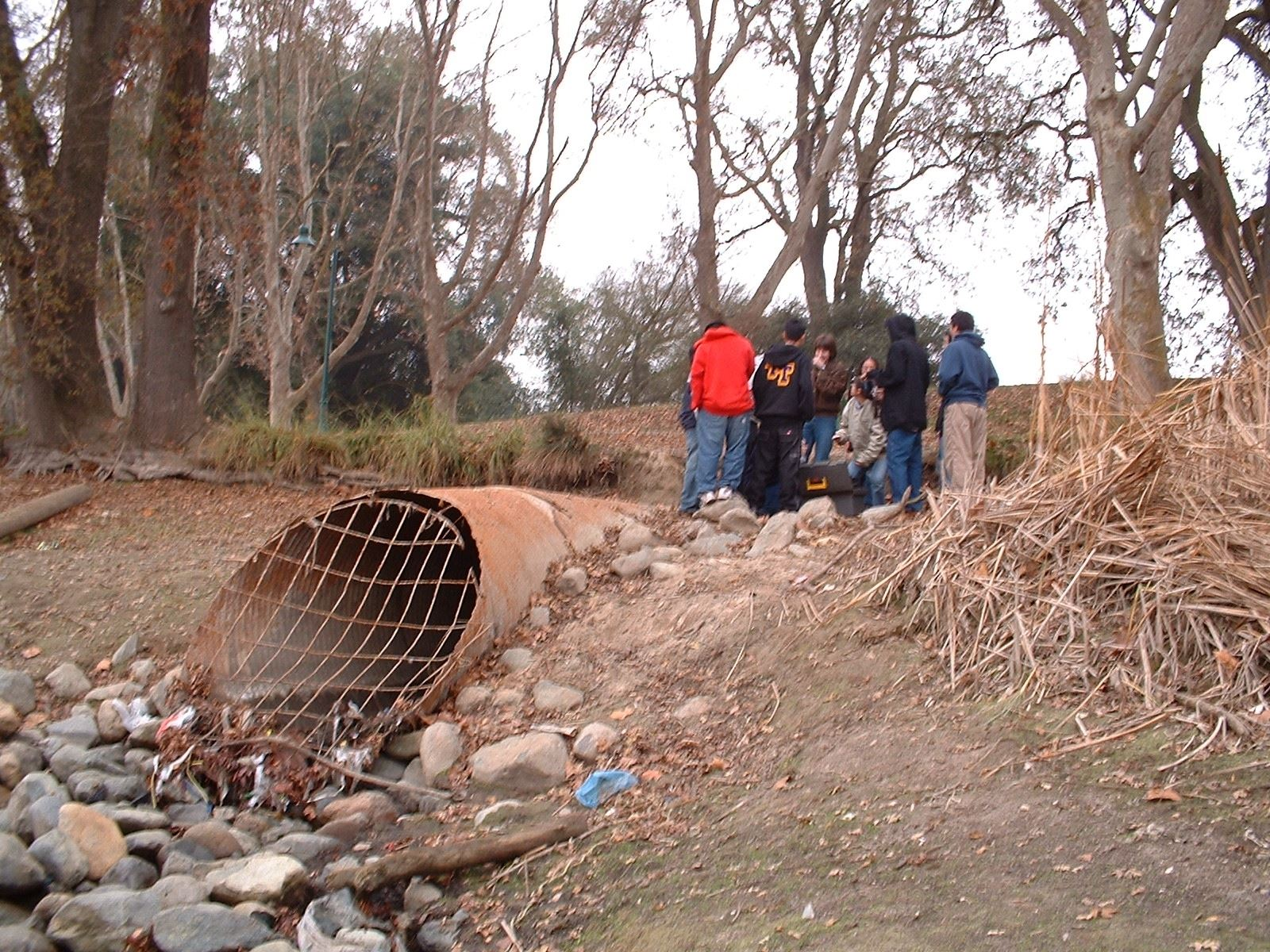 Group by large storm drain